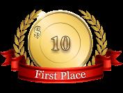 1st - $ 10