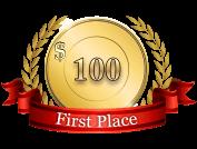 1st - $ 100