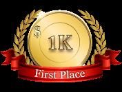 1st - $ 1 000