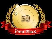 1st - $ 50