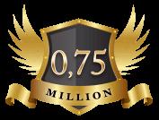 $ 750 000