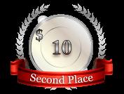 2nd - $ 10
