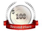 2nd - $ 100