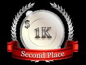 2nd - $ 1 000