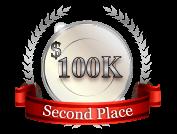 2nd - $ 100 000
