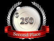 2nd - $ 250
