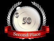 2nd - $ 50
