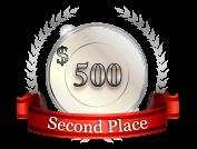 2nd - $ 500