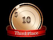 3rd - $ 10