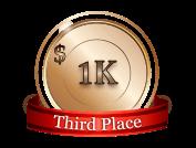 3rd - $ 1 000
