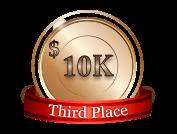 3rd - $ 10 000