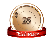 3rd - $ 25