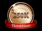 3rd - $ 250 000