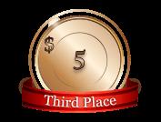 3rd - $ 5