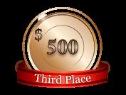 3rd - $ 500