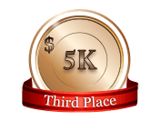 3rd - $ 5 000